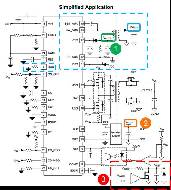 基于LM5036 的半桥DC/DC电源——辅助电源篇