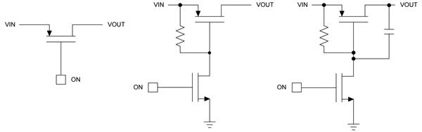 p信道mosfet(pmos)分立电路