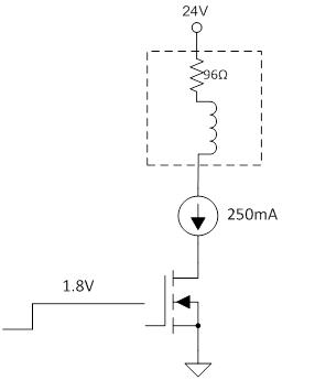 nmos 低侧驱动器