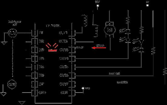 7 通道 nmos 低侧驱动器