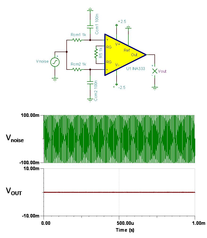 共模信号电路图