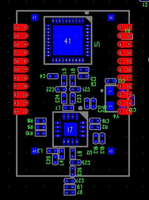 cc2530 参考电路精简