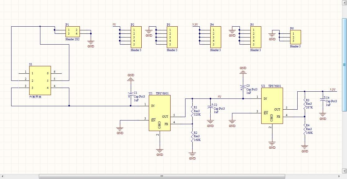 请问ti有什么比较好的线性稳压芯片吗?稳3.3v和5v的