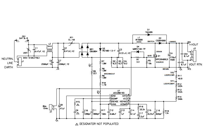 电源管理 ucc28019怎么样改变交流输入端的功率因数  请问改变芯片