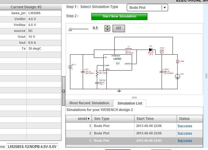 tps2490设计的30-60v输入60v4a输出电路