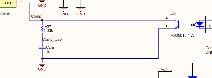 应该是与光耦输出电流ic有关系的,ic又是与光耦输入if有关的, 请问
