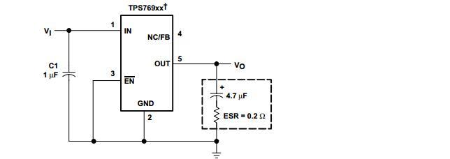 关于输出电容的选择,可以参考下面的图标