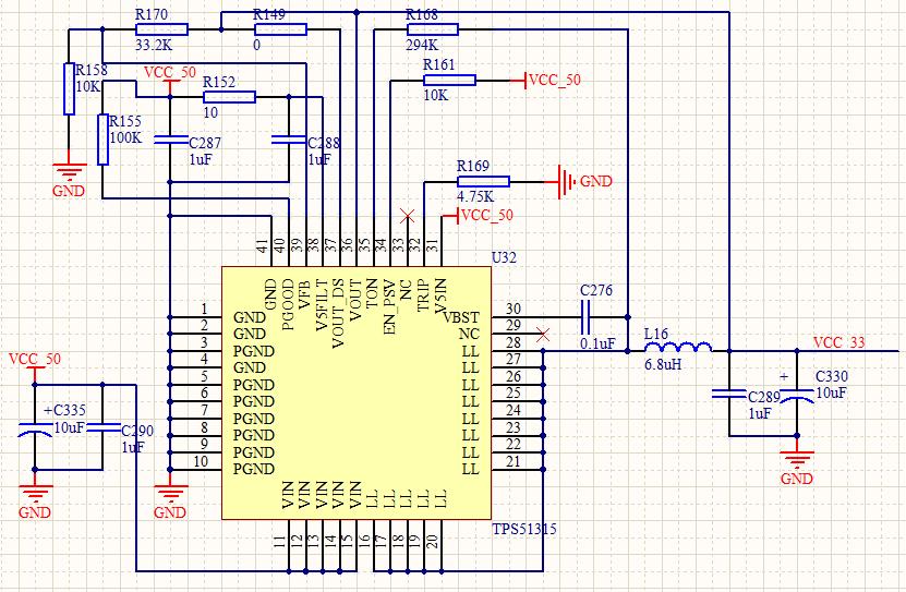 3v,之前先用直流电源实际测了一下 3.3v的工作电流,大约800ma.