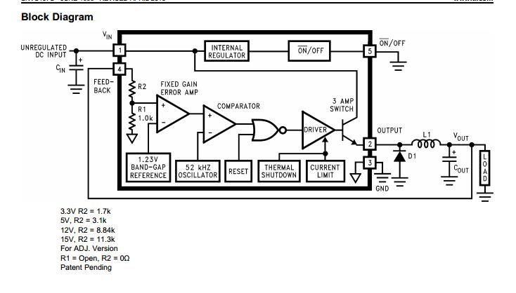 电源管理芯片lm2576的学习