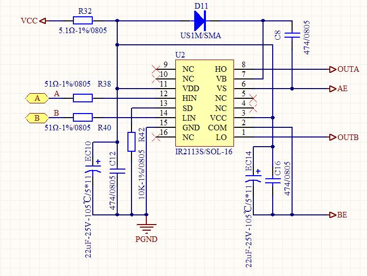 以TI移相全桥UCC28950为主芯片做的充电机项目,下面以此IC的在实际应用中遇到的诸多问题与朋友们共同探讨,希望能把问题尽快的解决,同时也为以后使用此IC的朋友们一些设计上的启示,谢谢! 全桥逆变部分: UCC28950外围电路: IR2113驱动及辅助驱动部分: