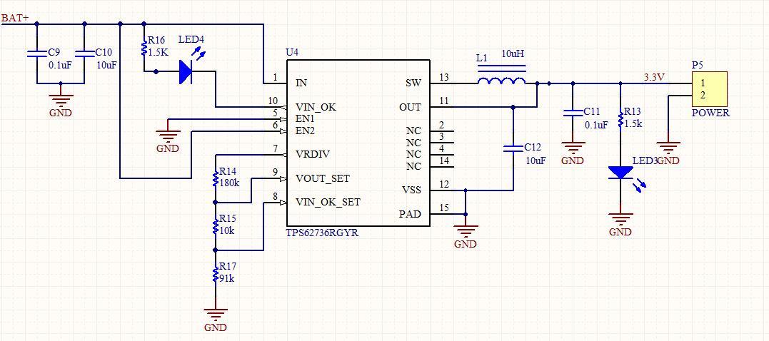 在用万用表测量输出电压