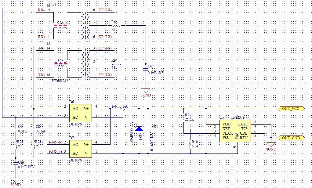 tps2378 poe方案设计