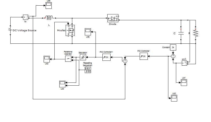 boost恒压恒流升压电源电路图
