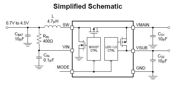 5v频率信号升压电路图
