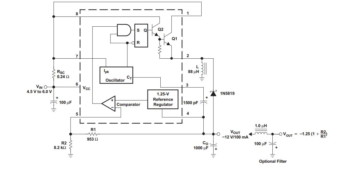 34063)的外围电路选型