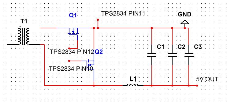 看了一下dcdc模块的大概电路结构