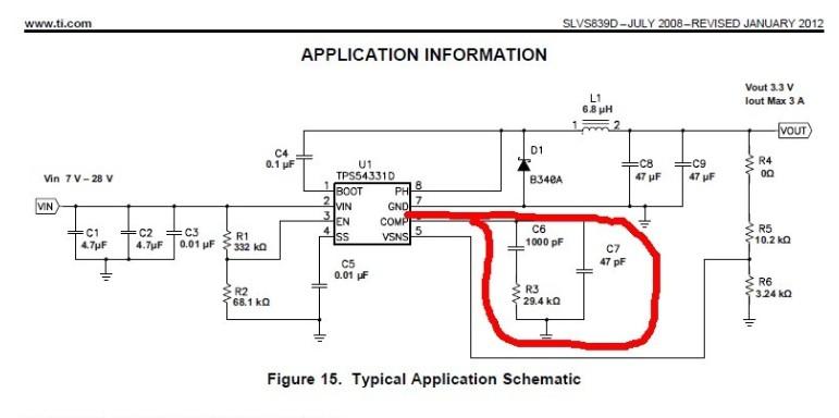 但是不知道这个引脚上的电阻电容大小是怎么确定的