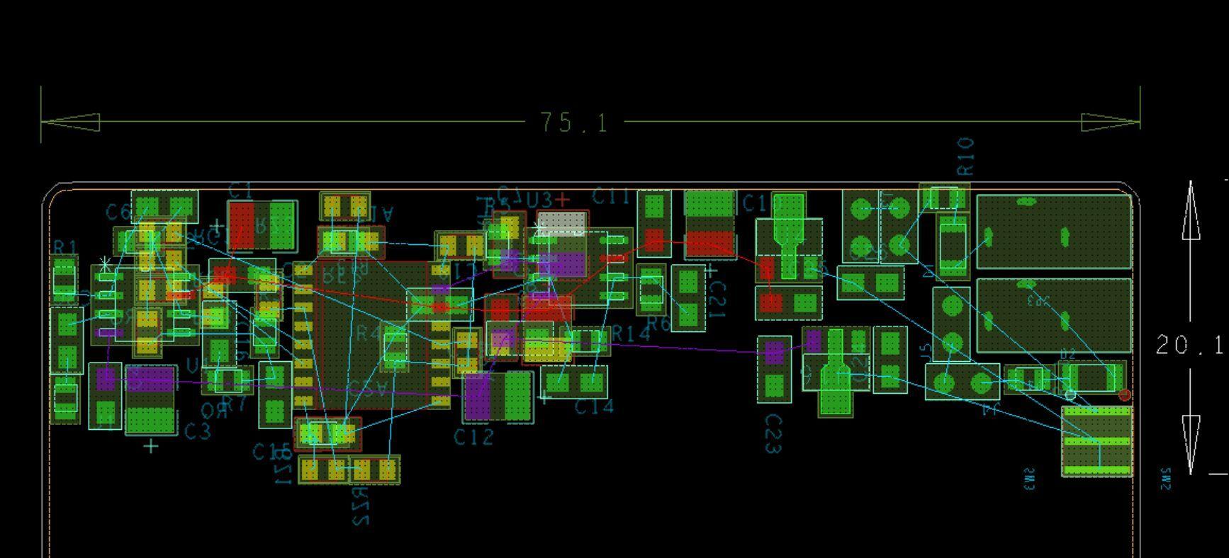 la1787音频前级放大电路图