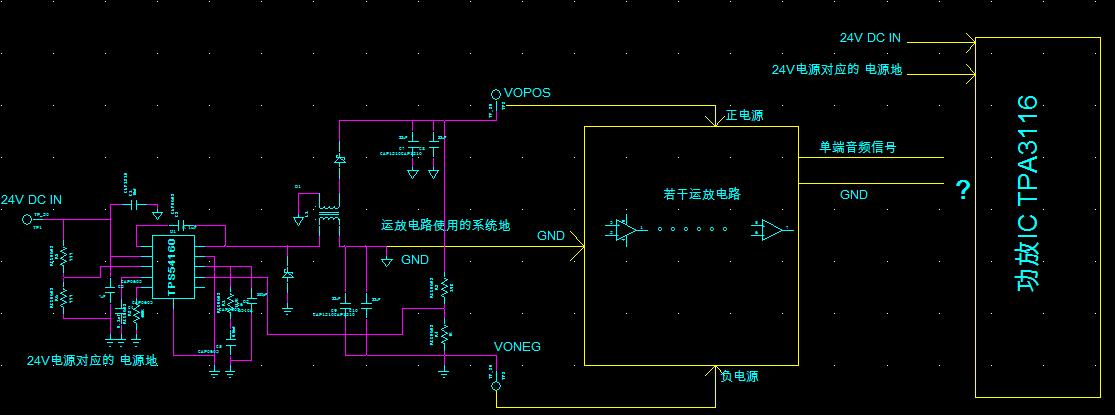 tpa3116信号输入配置问题?