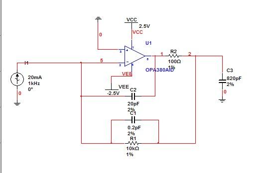 信号放大器pcb电路图