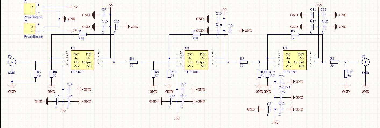 运算放大器偶次谐波失真问题?