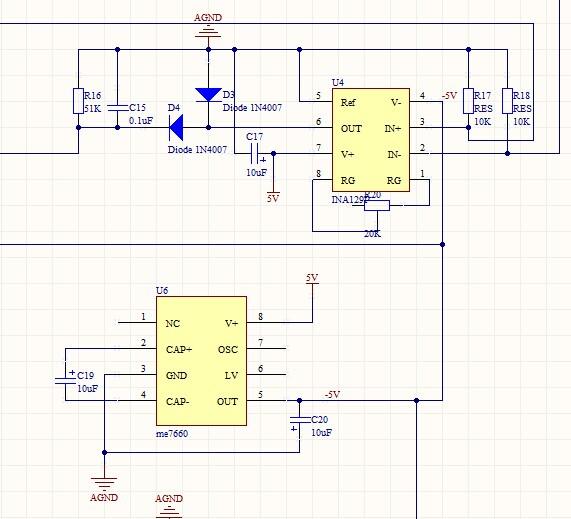 用ian129做了一个放大电路