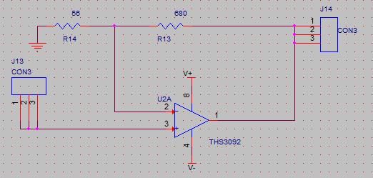 电路图如下,输入1Vpp,100Hz,但是输出的波形很不好,怀疑自激。    然后怀疑是探头影响,信号发生器输出10mVpp,直接接到示波器探头,波形正常,将输出头碰到运放输入脚波形马上就变了(示波器探头和发生器输出一直连接的)。请问这是探头的原因吗?有设么办法可以避免吗?很多时候都是示波器探头搭到输入端就自激了。谢谢。
