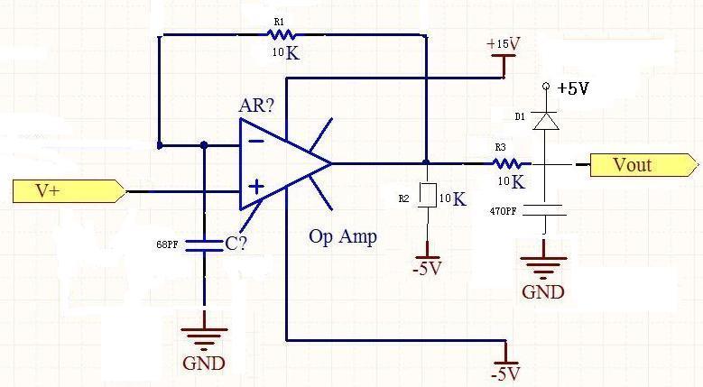 运放lm2902d跟随电路