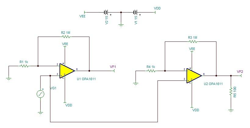 模拟与混合信号 放大器 opa1611 开环输出阻抗  最近在看运放稳定性
