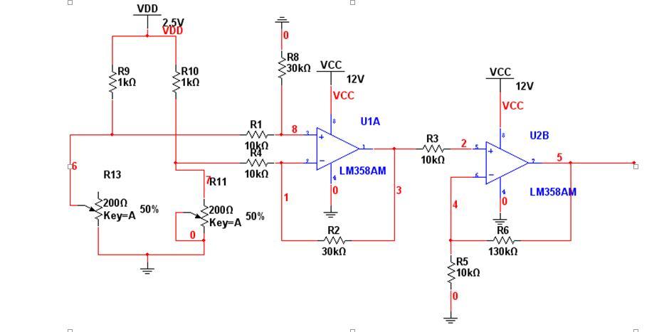lm358差分放大电路