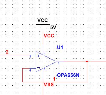 前端电压跟随器自激