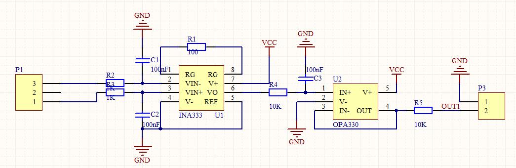 ina333放大直流小电压的问题