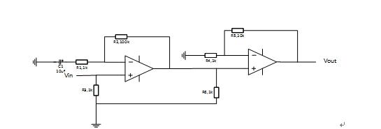 同相放大器级联的问题(小信号放大)