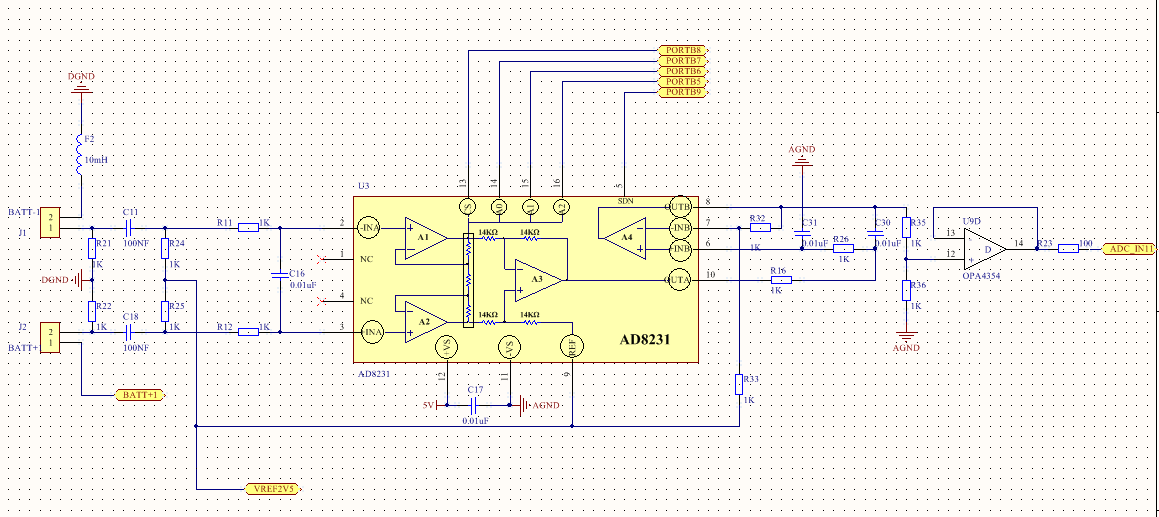 奥迪a4仪表电路图