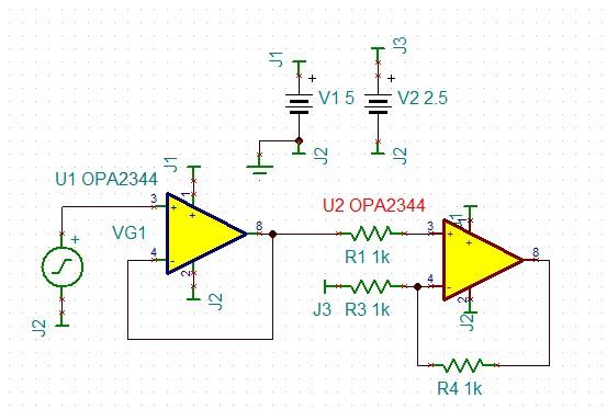 opa6204调音板电路图