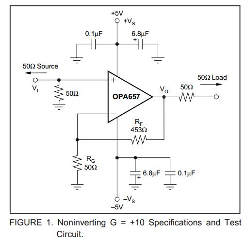opa657输出失调电压过大是什么原因?