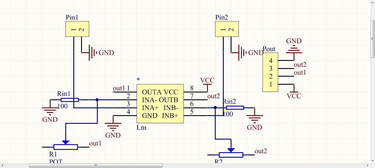 lmv358信号放大的问题