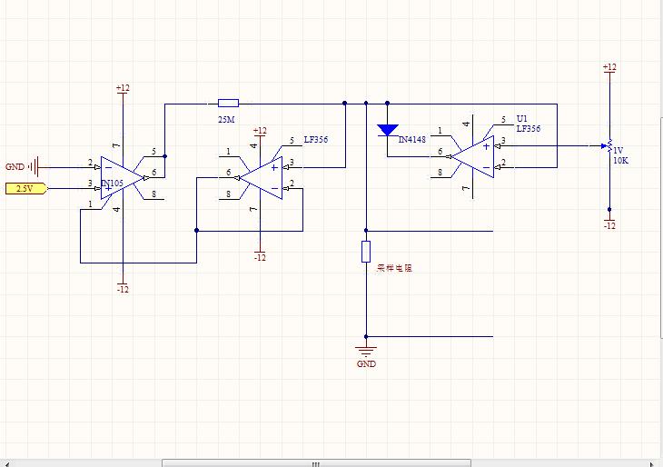 我的电阻式直流的.采用恒流源的设计思想.
