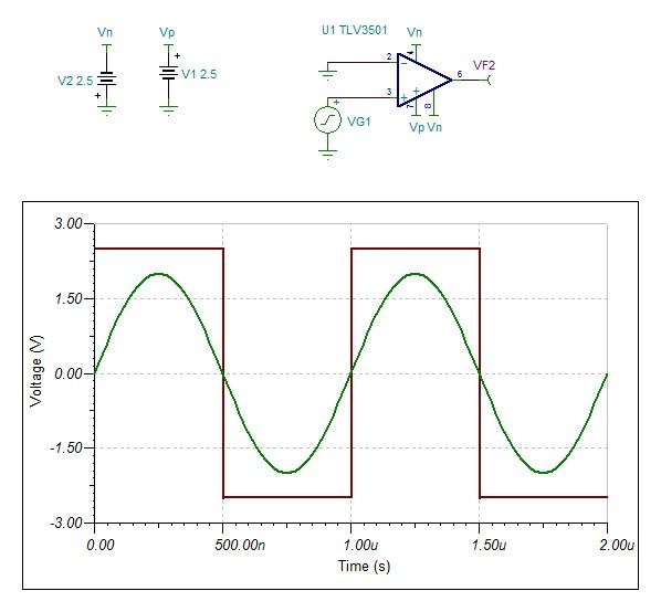 tl3016高速比较器不能输出负电