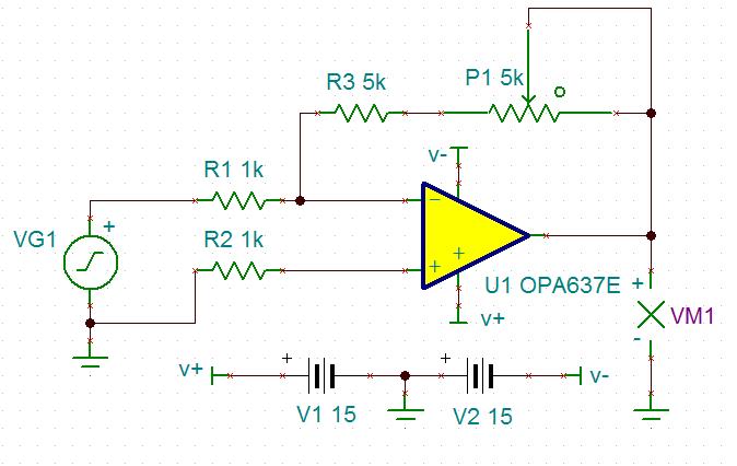 opa637出现放大倍数岁频率增加的情形 求解