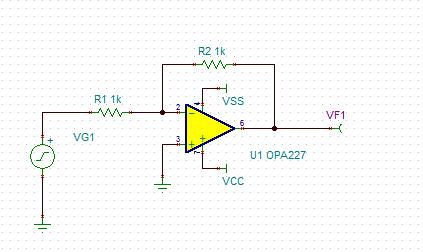 [求助]关于tina 运放反向放大器环路增益 波特图画法