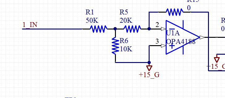 想为输入端加一个电压跟随器