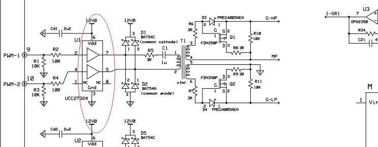 llc谐振套件中u1的作用