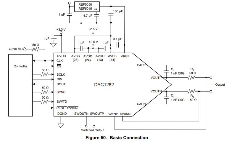 画出倒t型的dac原理电路图