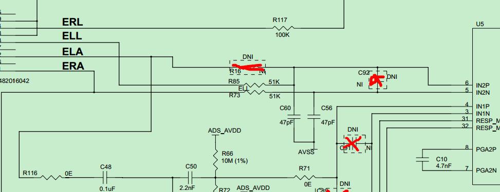 对于右腿驱动电路,是如上图接法就可以吗?