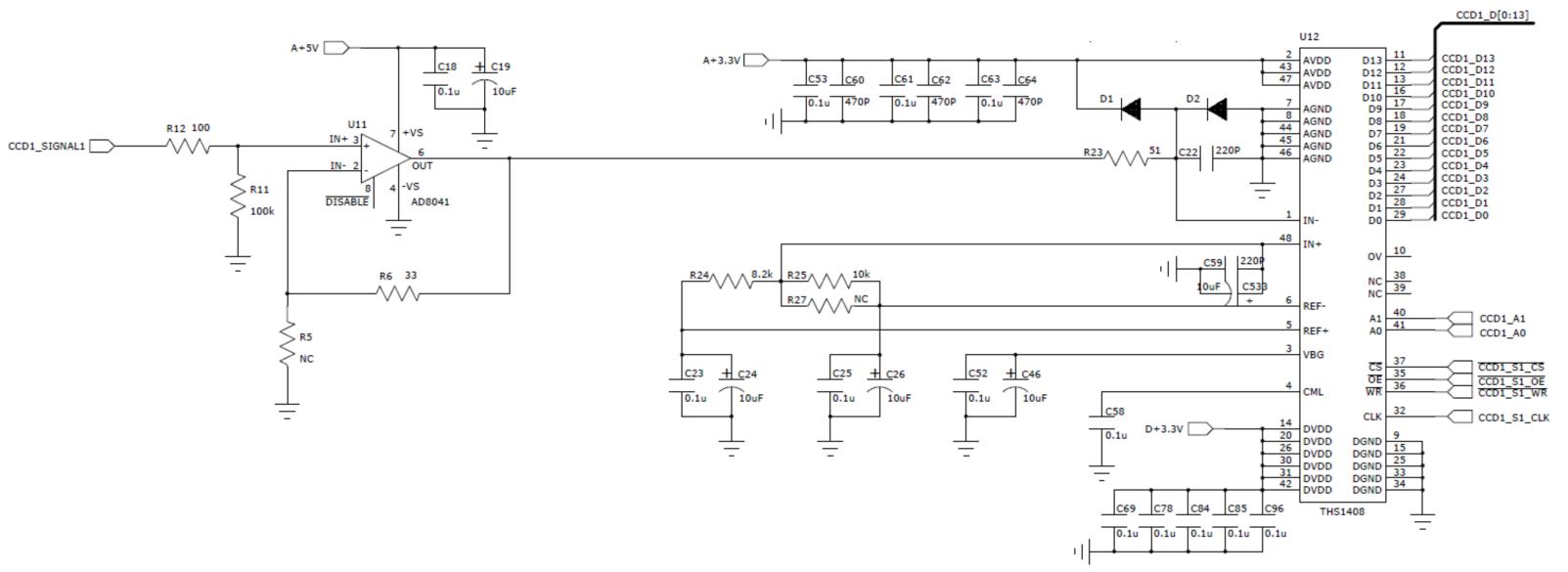 ths1408参考电压偏移问题