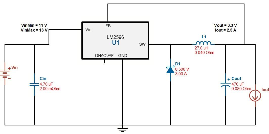 【原创】dcdc转换器lm2596使用经验分享