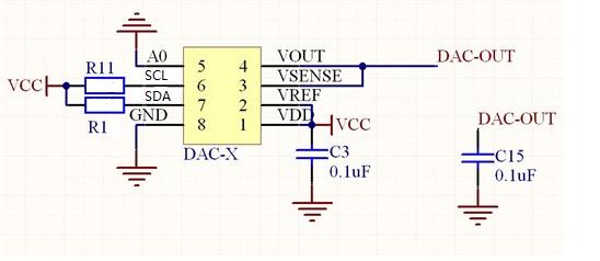 dac8571电压输出问题