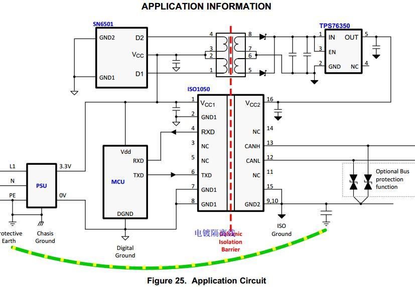 amc1200dubr电路图