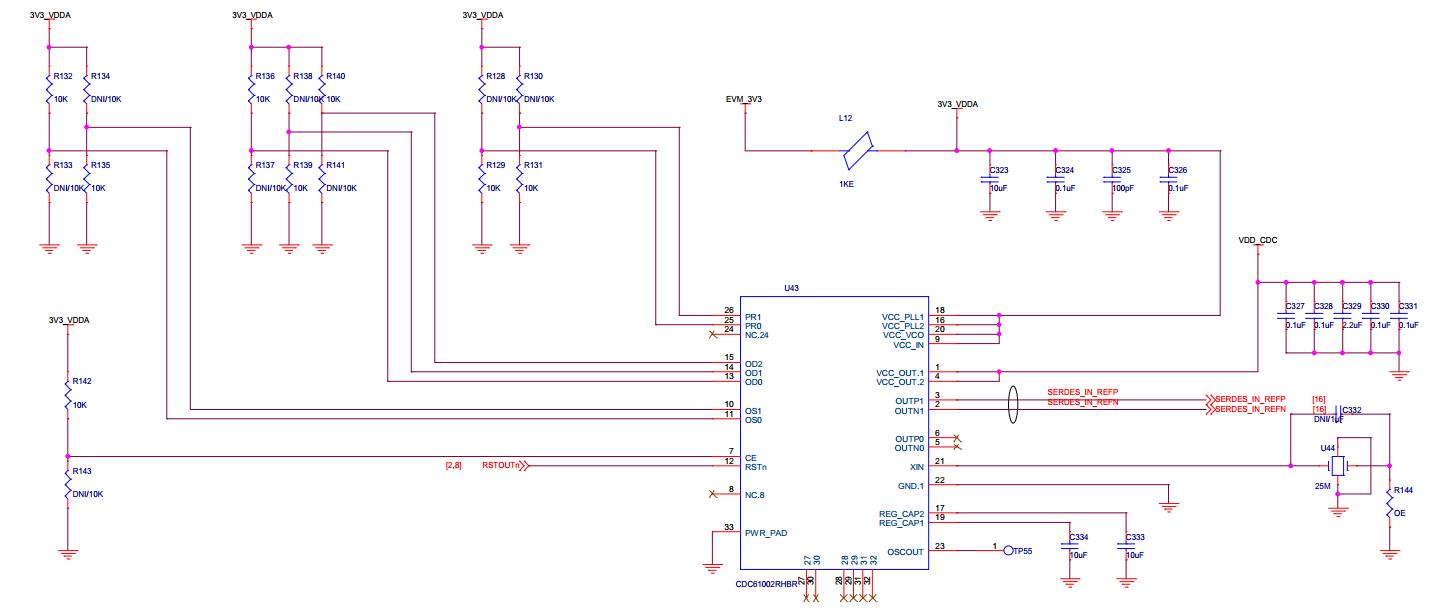 电路如下,问题是晶振输出是2v的电平